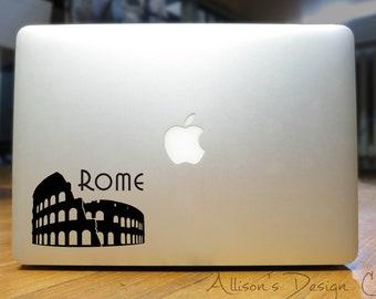 Rome - Colosseum Silhouette Vinyl Decal