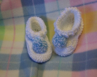 Special Order, Baby Booties with pompoms
