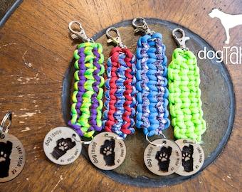 Dog Tahoe Keychain & Tag