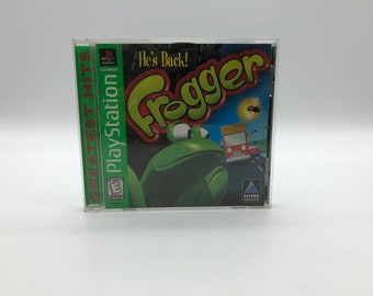 Frogger (Sony PlayStation 1, 1997) Vintage Video Game, Complete, tested