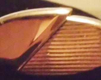 Signed Vintage Swank Silver Cufflinks