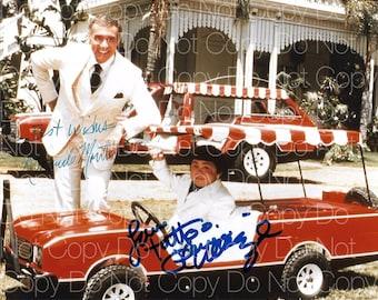 Fantasy Island signed Ricardo Montalban Herve Villachez 8X10 photo picture poster autograph RP 2