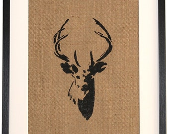 Framed Stag picture