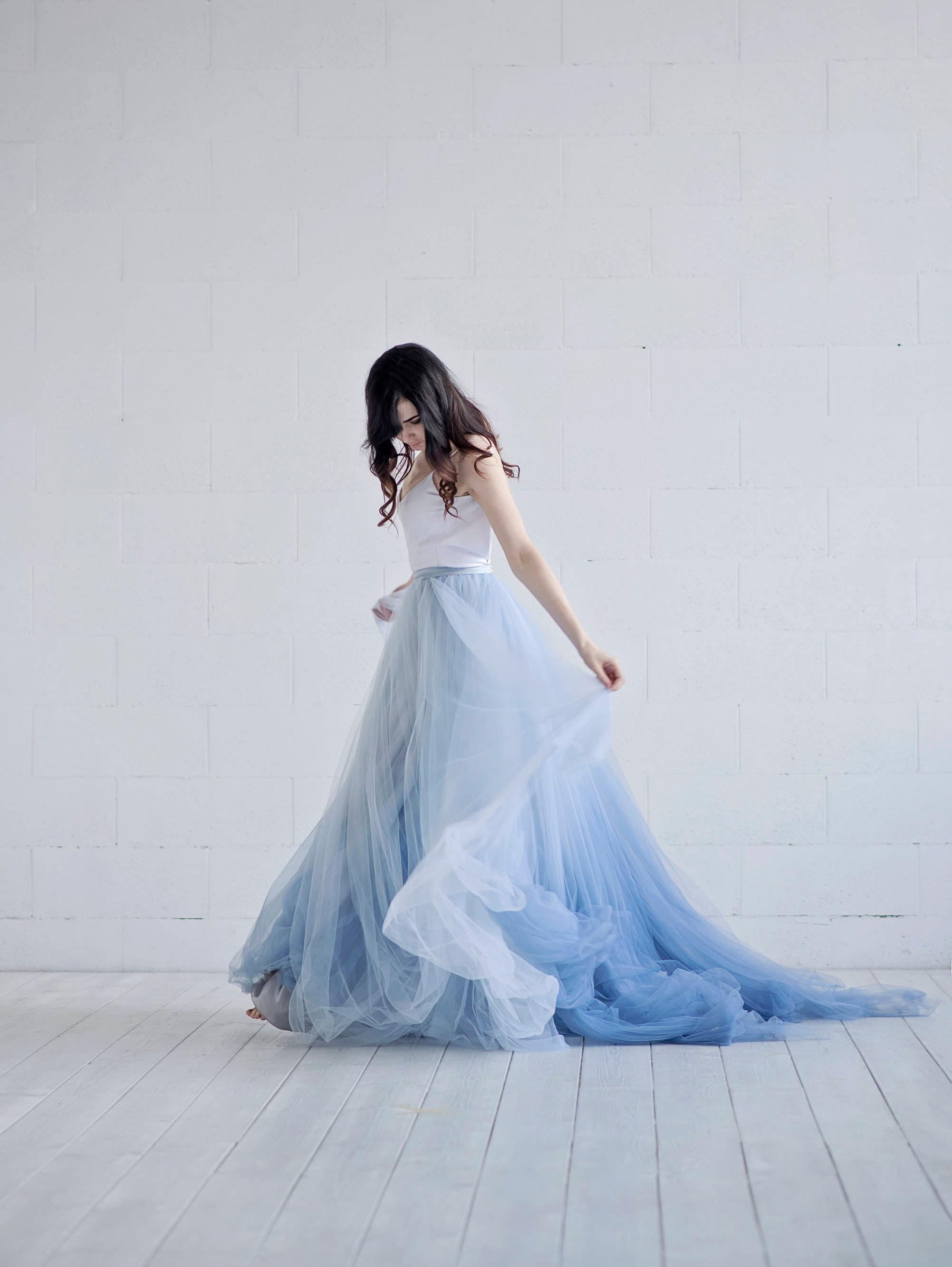 Nora - ombre wedding dress