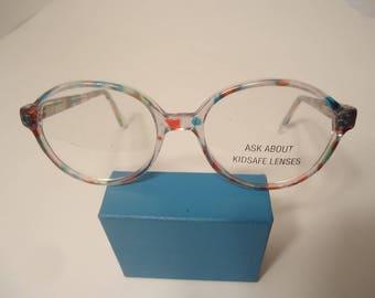 NOS Dollond & Aitchison KL45 Lindsay Multi Childs Eyeglass Frames 130 Lot 110