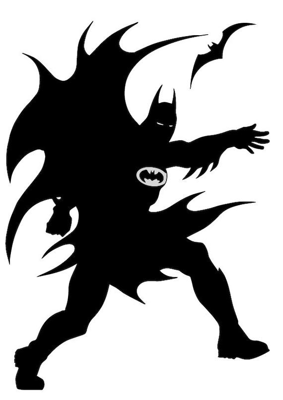 Svg Batman Cutting File Batman Svg Batman Eps Batman