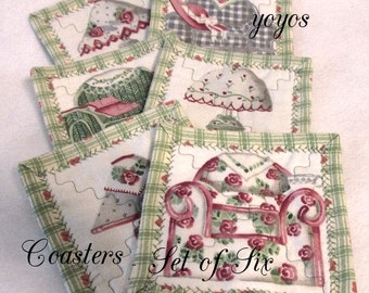 CHAIRS,  LAMPS,  COASTERS,  Daisy Kingdom, Home Decor,  Shabby Chic,  Gifts for Women, Hostess Gift, Teacher Gift,  Stocking Stuffer