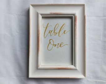 Wedding Table Number / 6x4 / Wedding / Table Numbers / Table Cards / Wedding Decor / Wedding Stationery / Table Name / Party