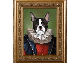 Fridge Magnet, Mona, Boston Terrier Dog Refrigerator Magnet