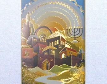 Peinture à l'artisanat fait à la main par Braha Levy Art Design