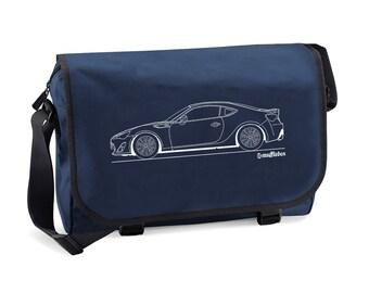 Toyota GT86 Outline Men's Messenger Bag