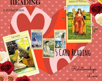 Love Relationship Tarot Reading - 5 Cards to Give You Guidance