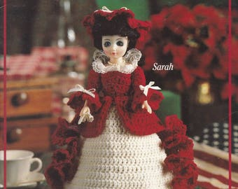 Ladies of Colonial America Book 2, Leisure Arts Crochet Doll Clothing Pattern Booklet 2184