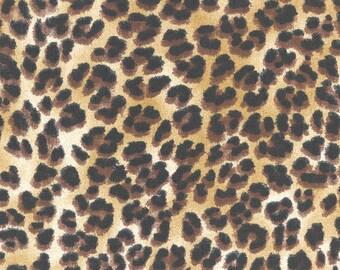 Amazon Sand Animal Cheetah Leopard fabric | Home Dec Cotton | Premier Prints
