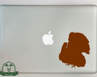 Turkey Print Macbook Laptop Decal