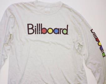 Vintage Billboard shirt long sleeve