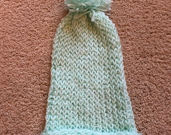 Teal Baby Hat for newborn and baby