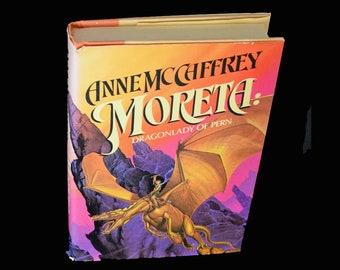 MORETA DRAGONLADY of PERN Hardcover Book by Anne McCaffrey - First Edition © 1983