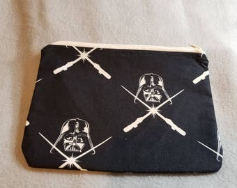 Darth Vader Large Zipper Pouch