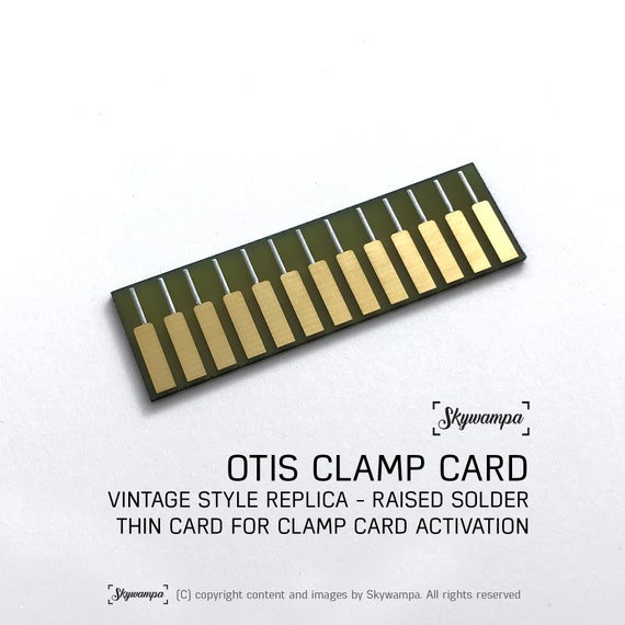 Otis ESB Vintage Replik Rand Anschluss Klemme Schaltung Karte passt Graflex Säbel Klemmen
