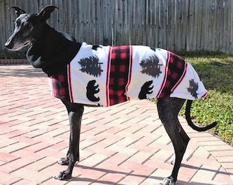 """Greyhound Coat. """"Bear Mountain Jacket"""" - Greyhound Sizes"""