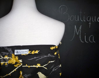 Balloon Tube TOP - Joel Dewberry - Sparrows - Made in ANY Size - Boutique Mia