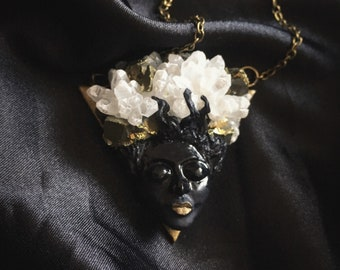 "Gothic Necklace ""Calista"""