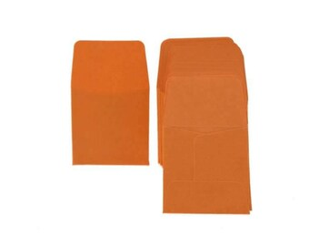 Guardhouse Orange Archival Paper Coin Envelopes, 2x2, 50 pack