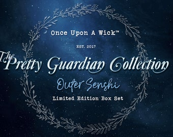 The Pretty Guardian Collection - Outer Senshi Limited Edition Candle Box Set