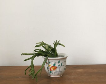small chinoiserie style planter