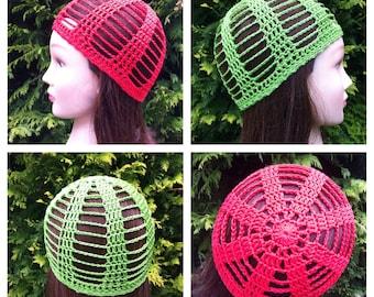 Cleo Skullcap Crochet Pattern