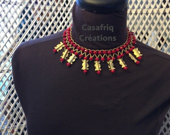 "Ras-neck ""Princess"" necklace"