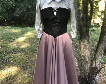 Briar Rose Sleeping Beauty Inspired Forest Peasant Dress Sleeping Beauty Inspired Cosplay