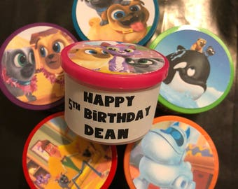 12 Puppy Dog Pals Friends Birthday Party Favor Gift Play Dough Toy PlayDough
