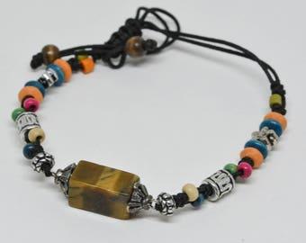 Simple but Charming Multi Color Bracelet