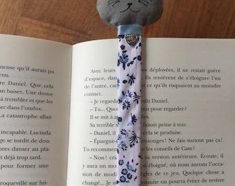 Bookmark cat fabric