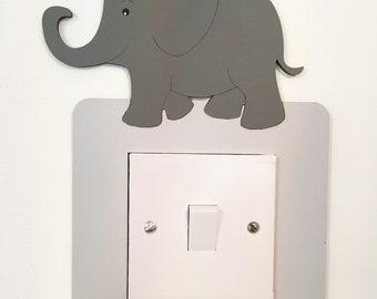 Elephant Light Switch Surround Elephant Nursery Decor