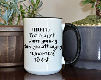 Teacher gift, Gift for Teacher, Teacher Appreciation, Home and Living, Drink and Barware, Kitchen and Dining, Drinkware, Mugs