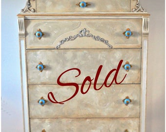 Sold - Custom Finish Available