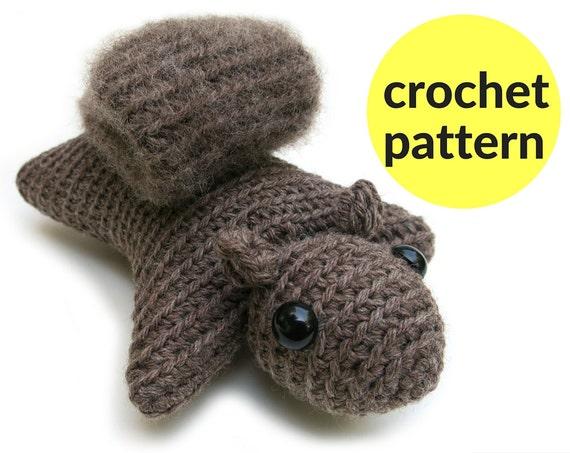 Easy Amigurumi Crochet Patterns For Beginners : Squirrel amigurumi pattern squirrel crochet pattern flying