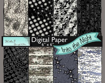 We Are 3 Digital Paper, Into The Night