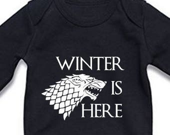 Winter Is Here - Game of Thrones inspired onesie