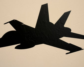 F-18 Jet - Wall Decal