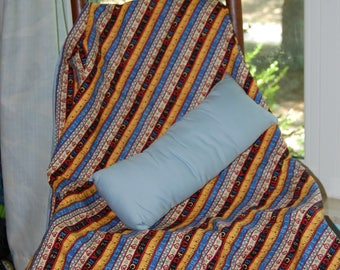 School Days Nap Quilt with travel Pillow