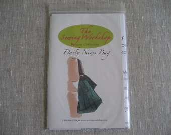 The Sewing Workshop Daily News Bag