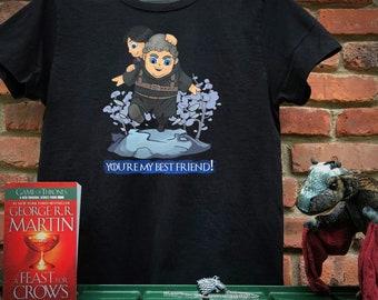 Game of Thrones - Bran & Hodor Best Friends! T-shirt