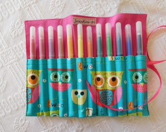 Kit to roll for crayons felt owls.