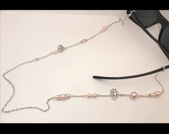 Pink glasses zen jewelry