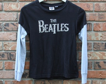 Vintage The Beatles Band Long Sleeve Women's small