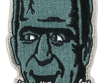 """3"""" Herman Munster Iron-ON Patch The Munster TV Show 60's Retro Spooky Horror Goth Television kitsch"""
